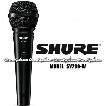 SHURE Dynamic Vocal Cardioid Microphone w/Cable