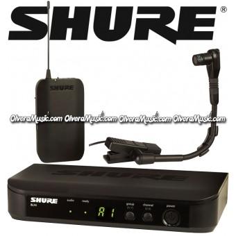 SHURE Micrófono Inalámbrico Para Instrumento