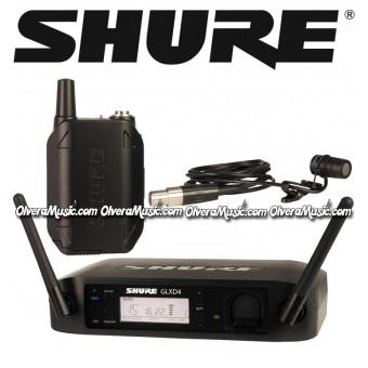 SHURE Micrófono Lavalier Inalámbrico - Sistema Digital