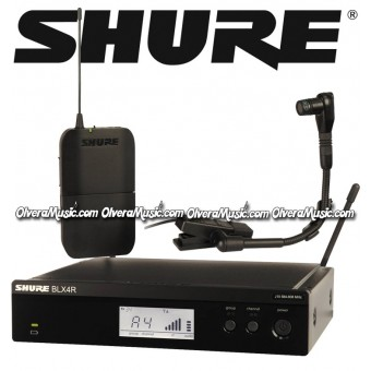 SHURE Rack Mount Wireless System - Instrument Microphone