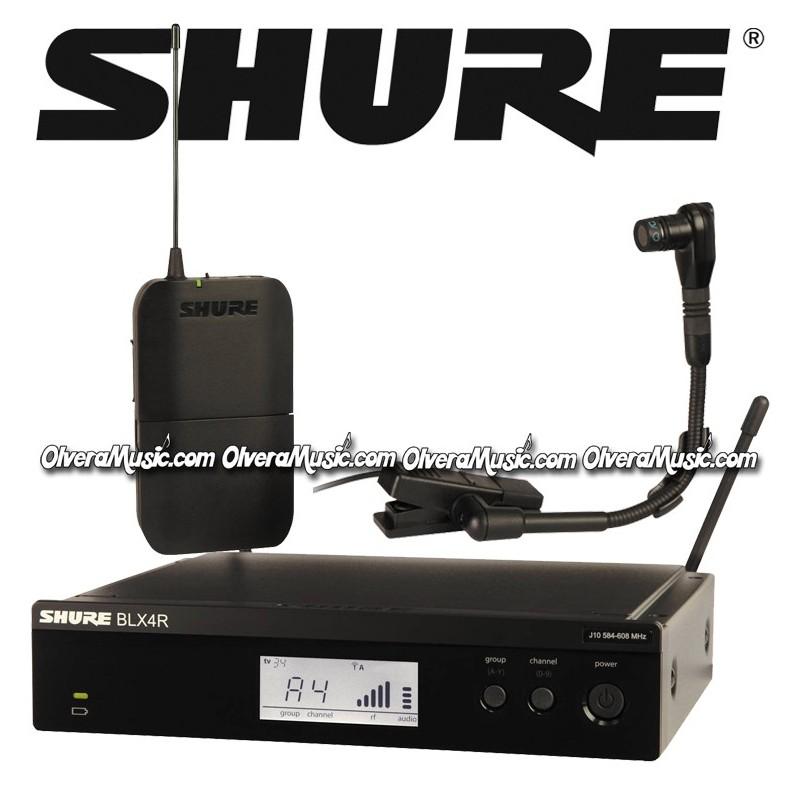 shure rack mount wireless system instrument microphone olvera music. Black Bedroom Furniture Sets. Home Design Ideas
