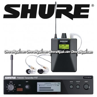 SHURE Stereo Wireless Personal Monitor System