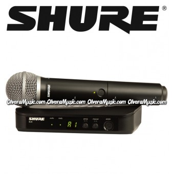 SHURE Handheld Vocal Wireless System w/PG58 Capsule