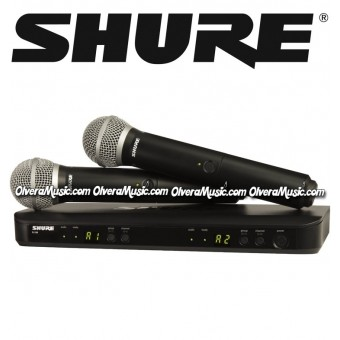 SHURE Dual Vocal Wireless System - Handheld