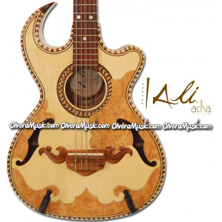 ALI ACHA Traditional Bajo Quinto - German Fir Wood