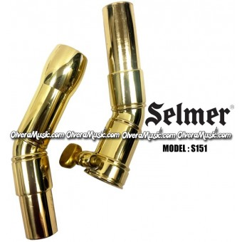 SELMER Sousaphone/Tuba Bits (Set of 2) - Lacquer Finish