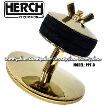 HERCH Cymbal Holder - Gold Color