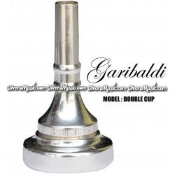 GARIBALDI Double-Cup Trombone Mouthpiece