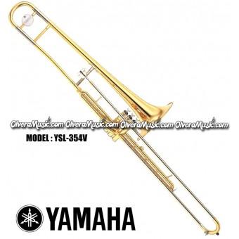 YAMAHA Bb Valve Trombone - Lacquer Finish