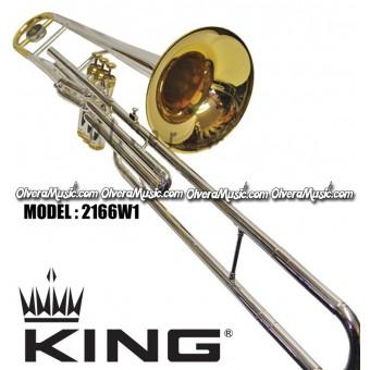 KING Professional Bb Valve Trombone - 2-Tone