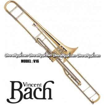 "BACH ""Stradivarius"" Professional Bb Valve Trombone - Lacquer Finish"