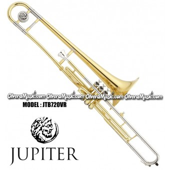 JUPITER Valve Trombone Key of C - Rose Brass Bell