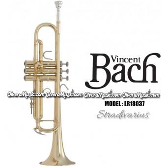 "BACH ""Stradivarius"" (Reverse) Professional Bb Trumpet - Lacquer Finish"