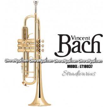 "BACH ""Stradivarius"" (Lightweight) Professional Bb Trumpet - Lacquer Finish"