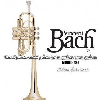"BACH ""Stradivarius"" Harmony & Specialty Professional Trumpet - Lacquer Finish"