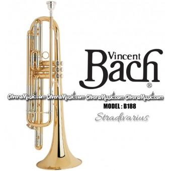 "BACH ""Stradivarius"" Professional Bass Trumpet - Lacquer Finish"