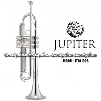 JUPITER Bb Intermediate Trumpet - Silver Plate Finish