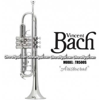 "BACH ""Aristocrat"" Bb Student Model Trumpet - Silver Plate Finish"
