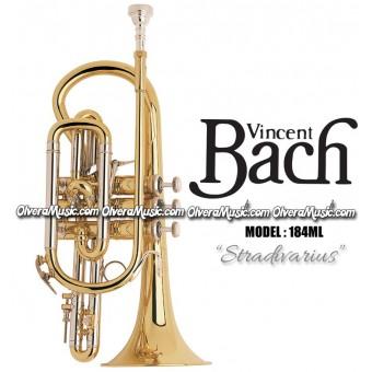 "BACH ""Stradivarius"" Corneta Profesional - Lacquer"