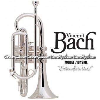 "BACH Corneta ""Stradivarius"" Profesional - Plateada"