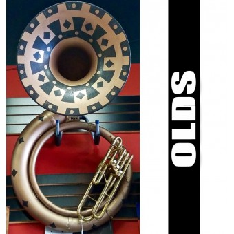 OLDS Fiberglass Sousaphone (USED)