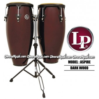 "LP Aspire 10""&11"" Wood Conga Set"