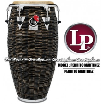LP Pedrito Martinez Signature Wood Congas