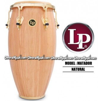 LP Matador Wood Congas - Natural