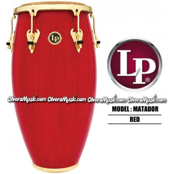 LP Matador Wood Congas - Red