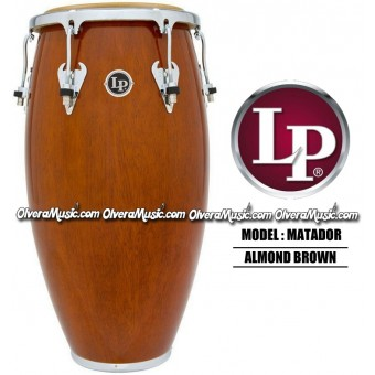 LP Matador Wood Congas - Almond Brown