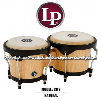 LP City Series Wood Bongos