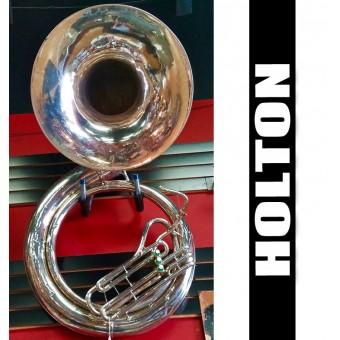 HOLTON Tuba de Metal Plateada - (USADA)