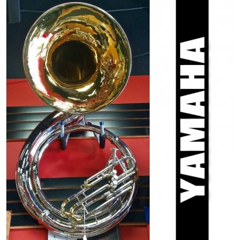 YAMAHA Metal Sousaphone Nickel/Lacquer Finish - (USED)