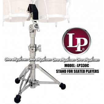LP 330 Bongo stand for sitting percussionists