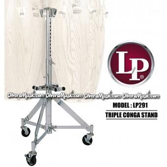 LP 291 Atril Triple Para Conga