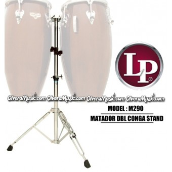 LP Matador Double Conga Stand