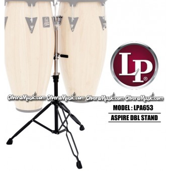 LP Aspire® Slide Mount Double Conga Stand