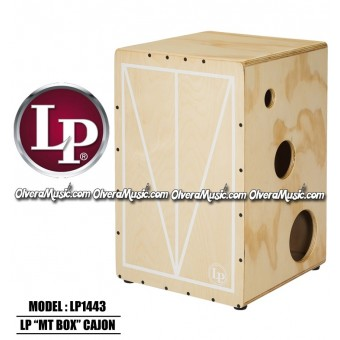 "LP Mona Tavakoli Signature ""MT BOX"" Cajon"