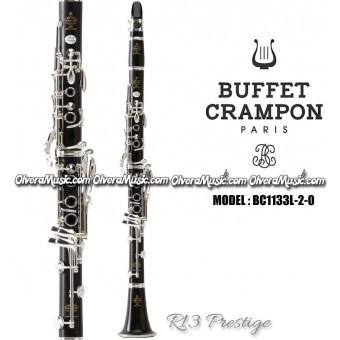 "BUFFET ""R13 Prestige"" Clarinete de Madera Profesional - Sibemol"