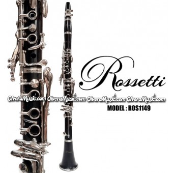 ROSSETTI Student Model Bb Clarinet