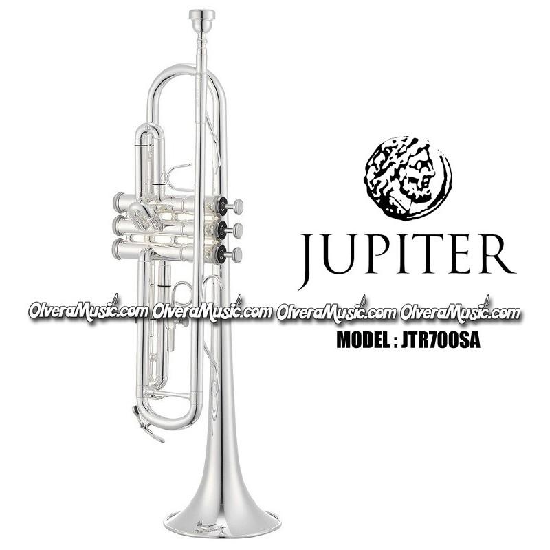 JUPITER Bb Student Model Trumpet - Silver Plate Finish - Olvera Music