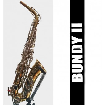 BUNDY II Alto Saxophone Lacquer - USED