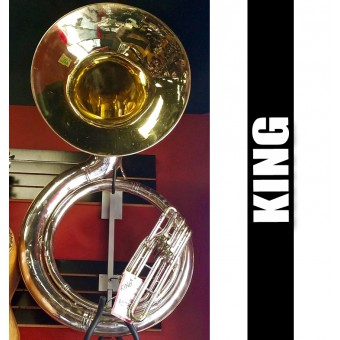 KING Metal Sousaphone Silver Plate Finish - (USED)