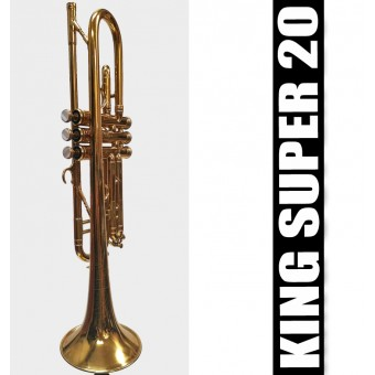 KING Super 20 Trumpet Lacquer Finish - (USED)