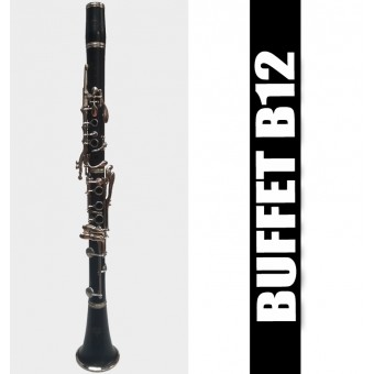 BUFFET B12 Clarinet - (USED)
