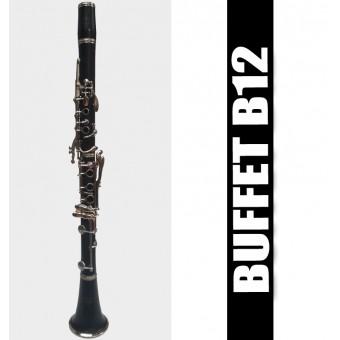 BUFFET B12 Clarinete - (USADO)