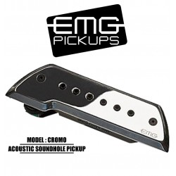EMG Acoustic Active Soundhole Pick-UP System - Cromo