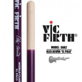 "Vic Firth (SAA2) World Classic Timbale Sticks Signature Series Alex Acuña ""El Palo"" - Salsa"