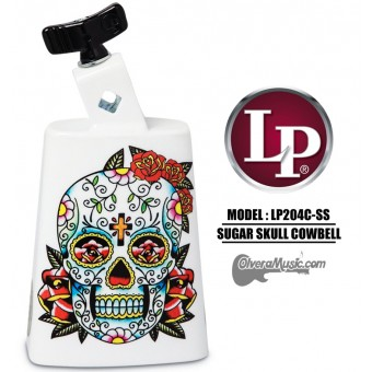 LP Collect-A-Bell Sugar Skull Cowbell
