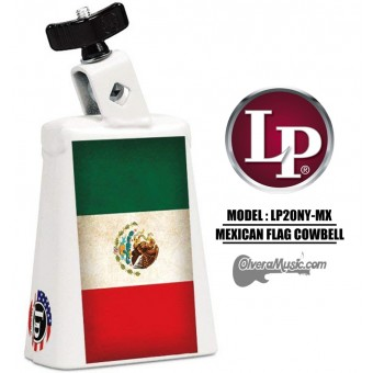 LP Collect-A-Bell Mexican Flag Cowbell